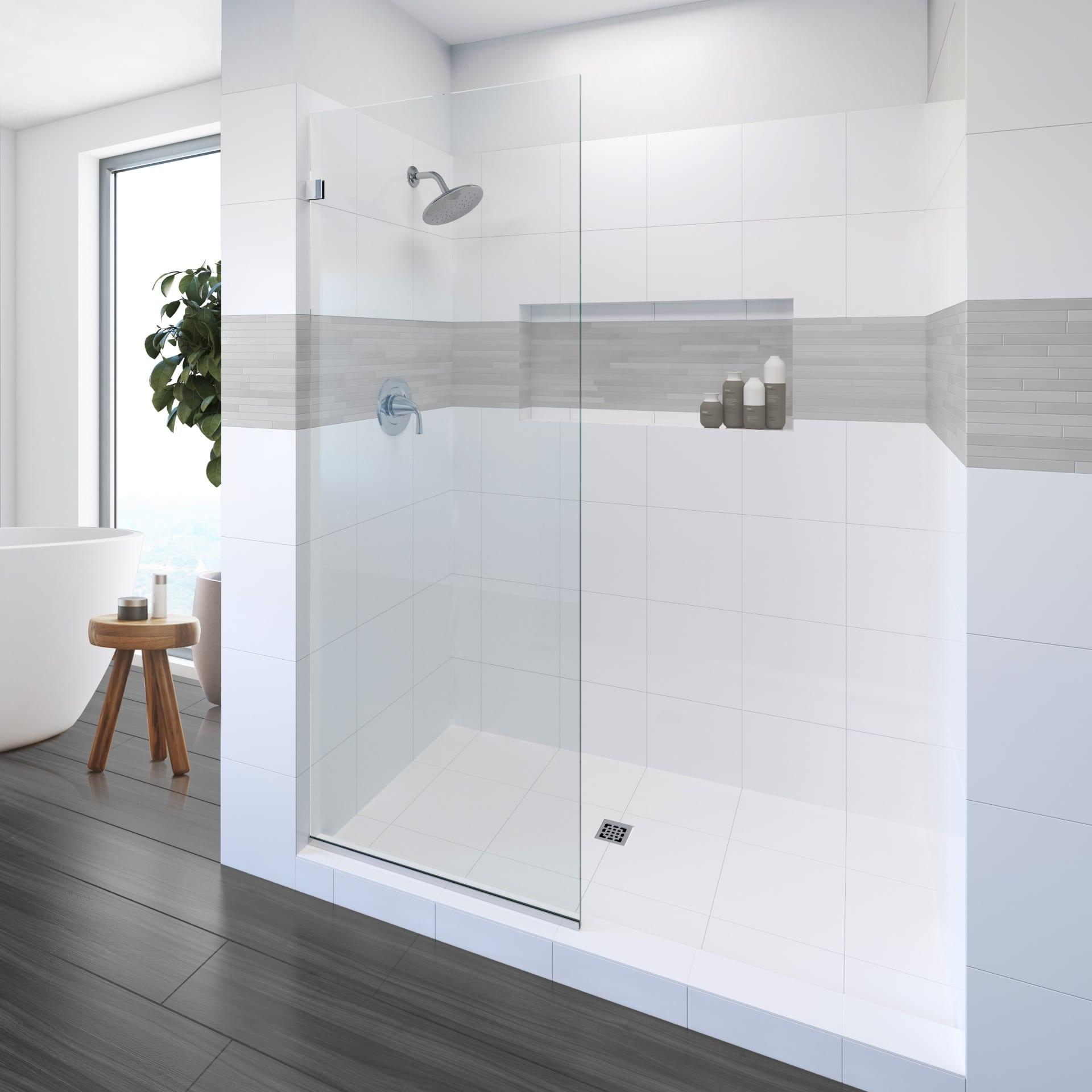 frameless inline shower doors - Shower Doors of Nashville