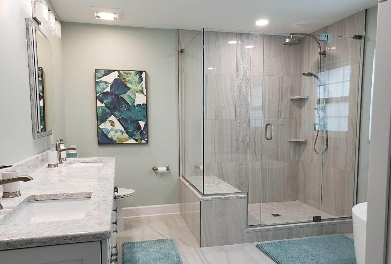frameless shower door tampa v1 - Shower Doors of Nashville