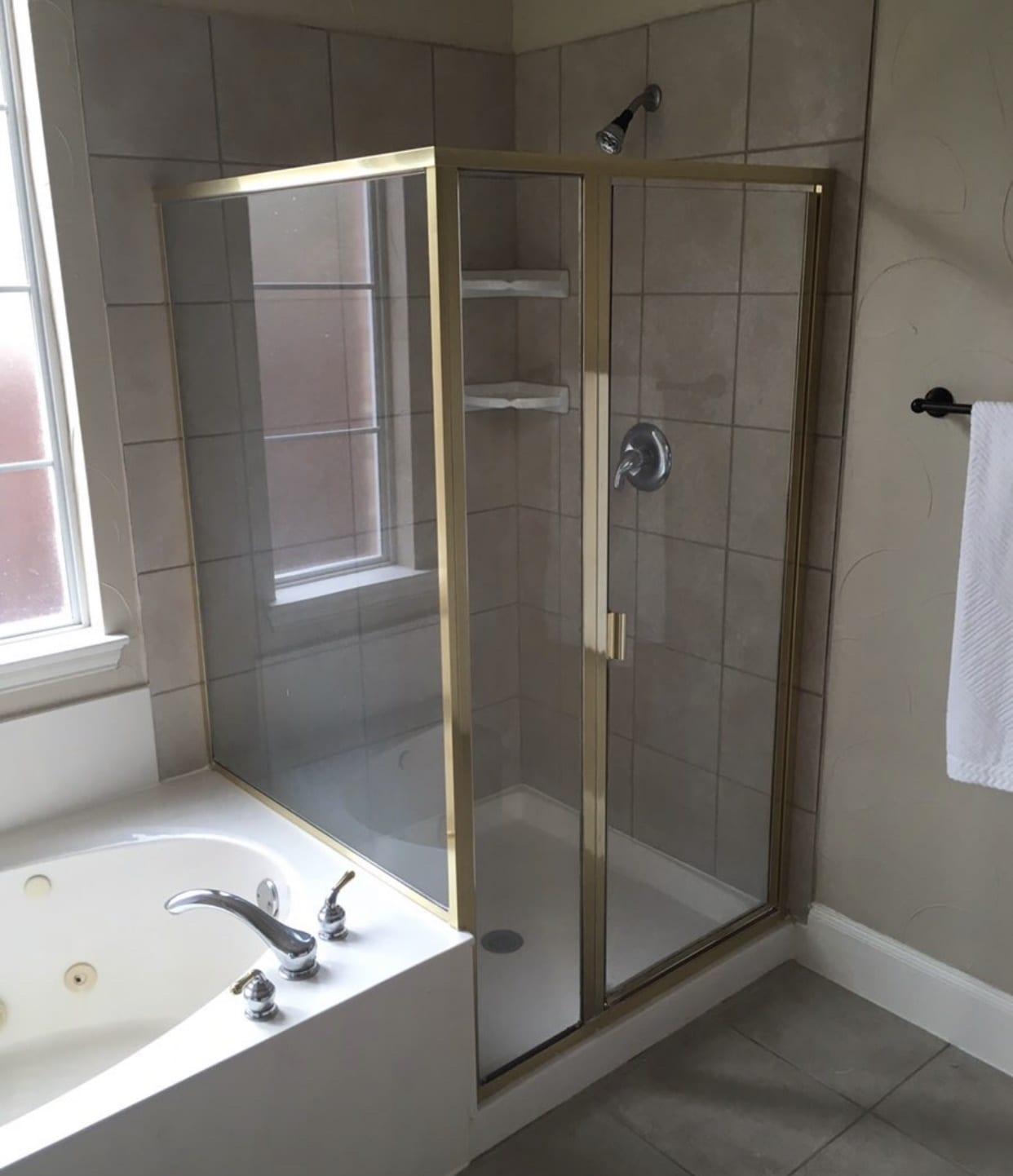 frameless shower doors img 2161 custom bathroom mirrors and decorative glass from Shower Doors of Nashville