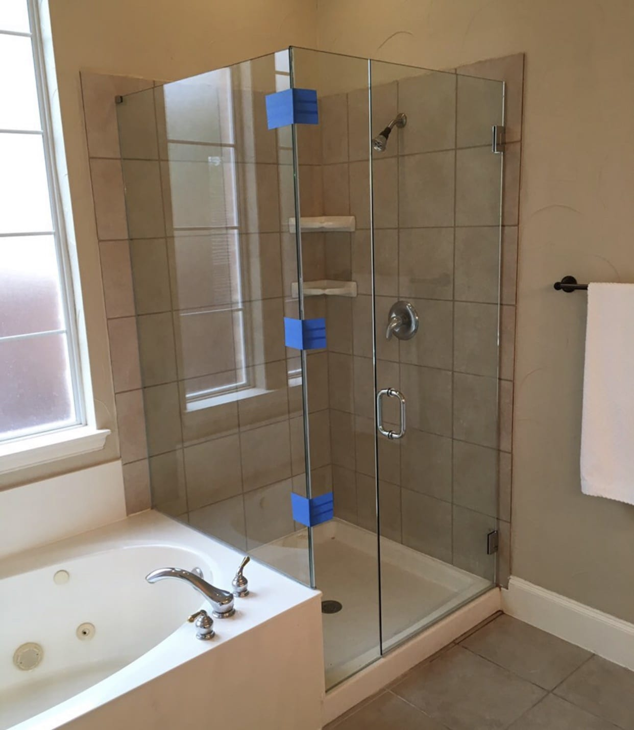frameless shower doors img 2162 custom bathroom mirrors and decorative glass from Shower Doors of Nashville