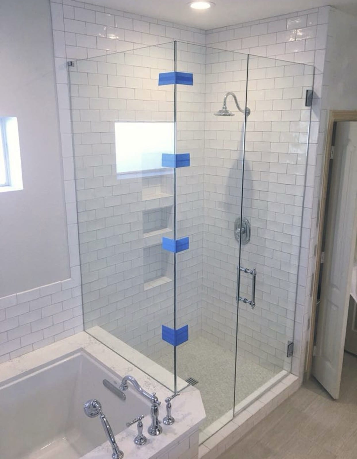 frameless shower doors img 2166 custom bathroom mirrors and decorative glass from Shower Doors of Nashville