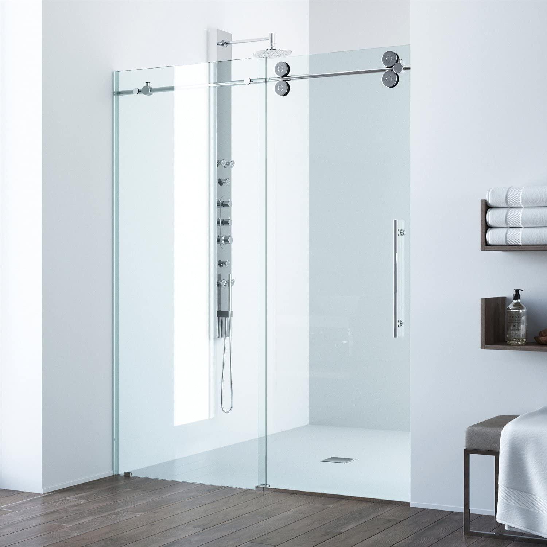 sliding frame shower door - Shower Doors of Nashville