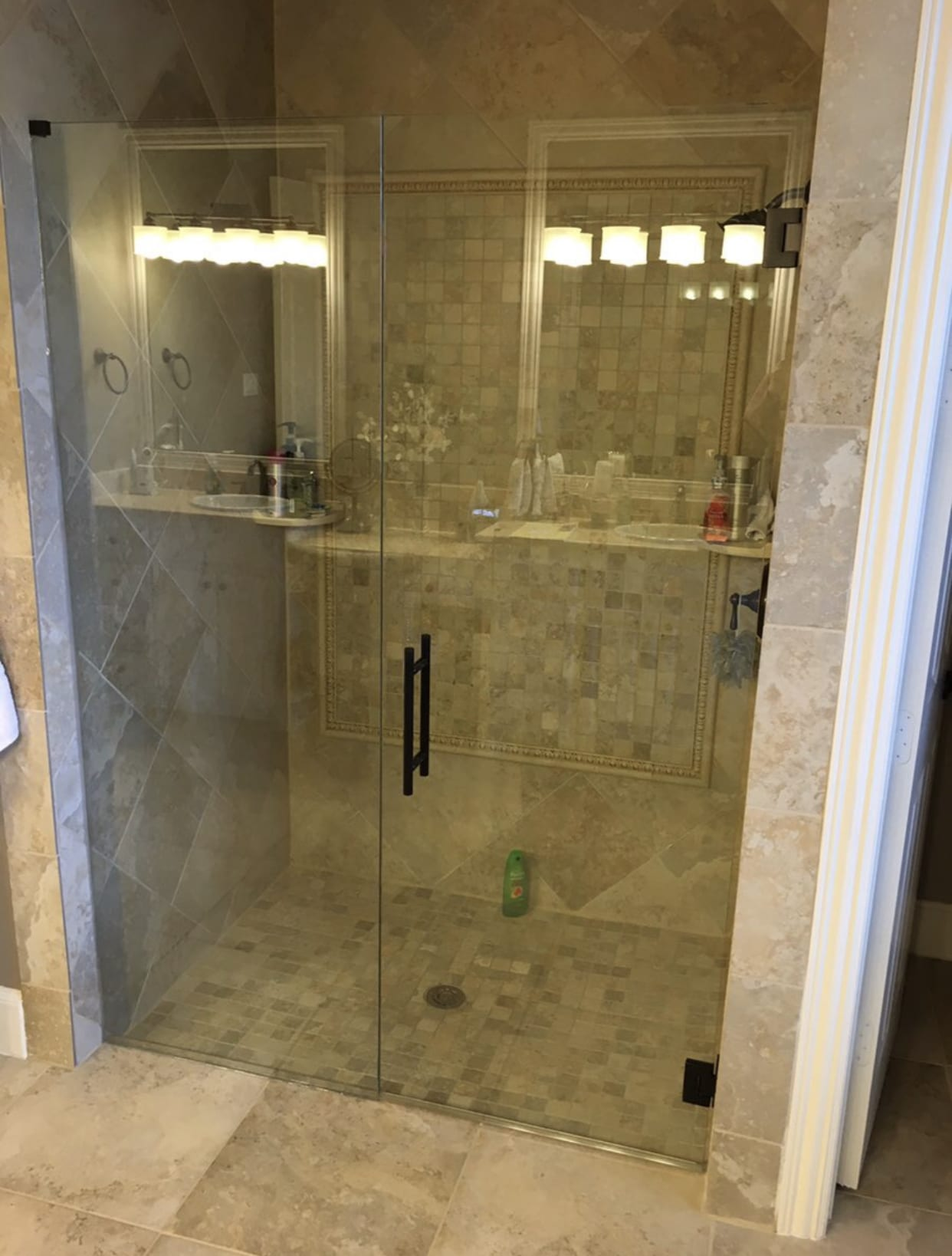 modern custom bathroom mirrors and decorative glass from Shower Doors of Nashville