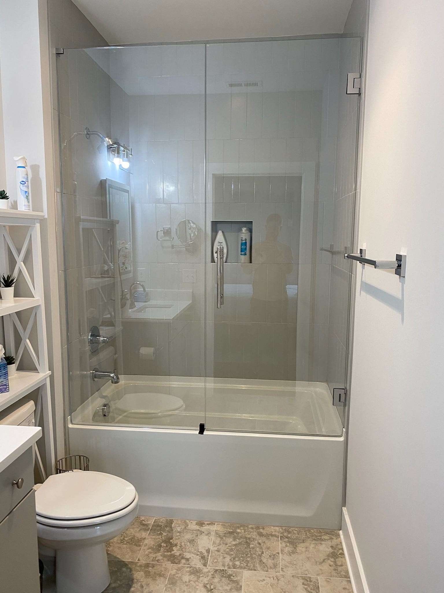 img 4194 custom bathroom mirrors and decorative glass from Shower Doors of Nashville