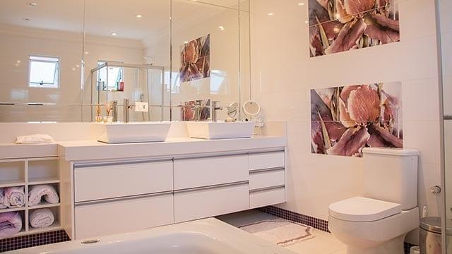 Mirrors in Bathroom by Shower Doors of Nashville